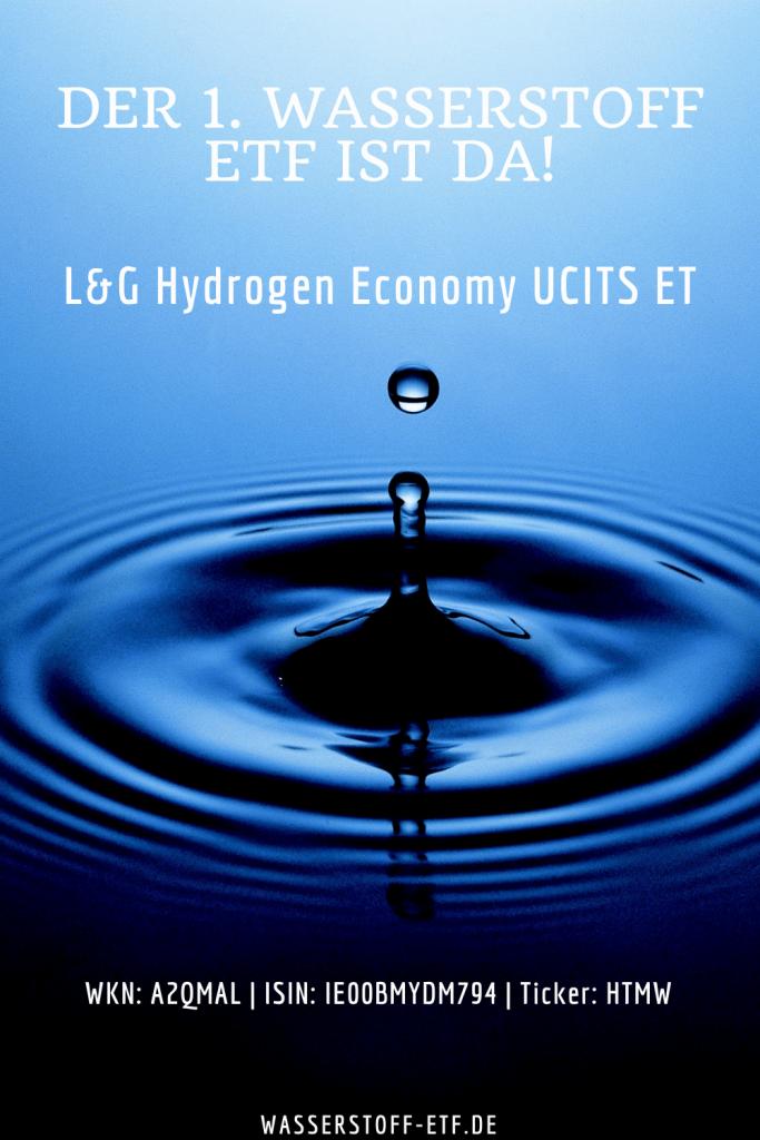 Pin Wasserstoff ETF von L&G (Hydrogen Economy UCITS ETF)